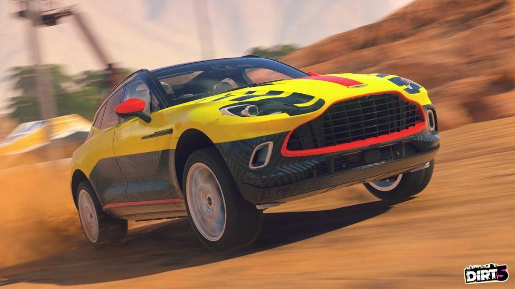 Aston Martin DBX Dirt 5