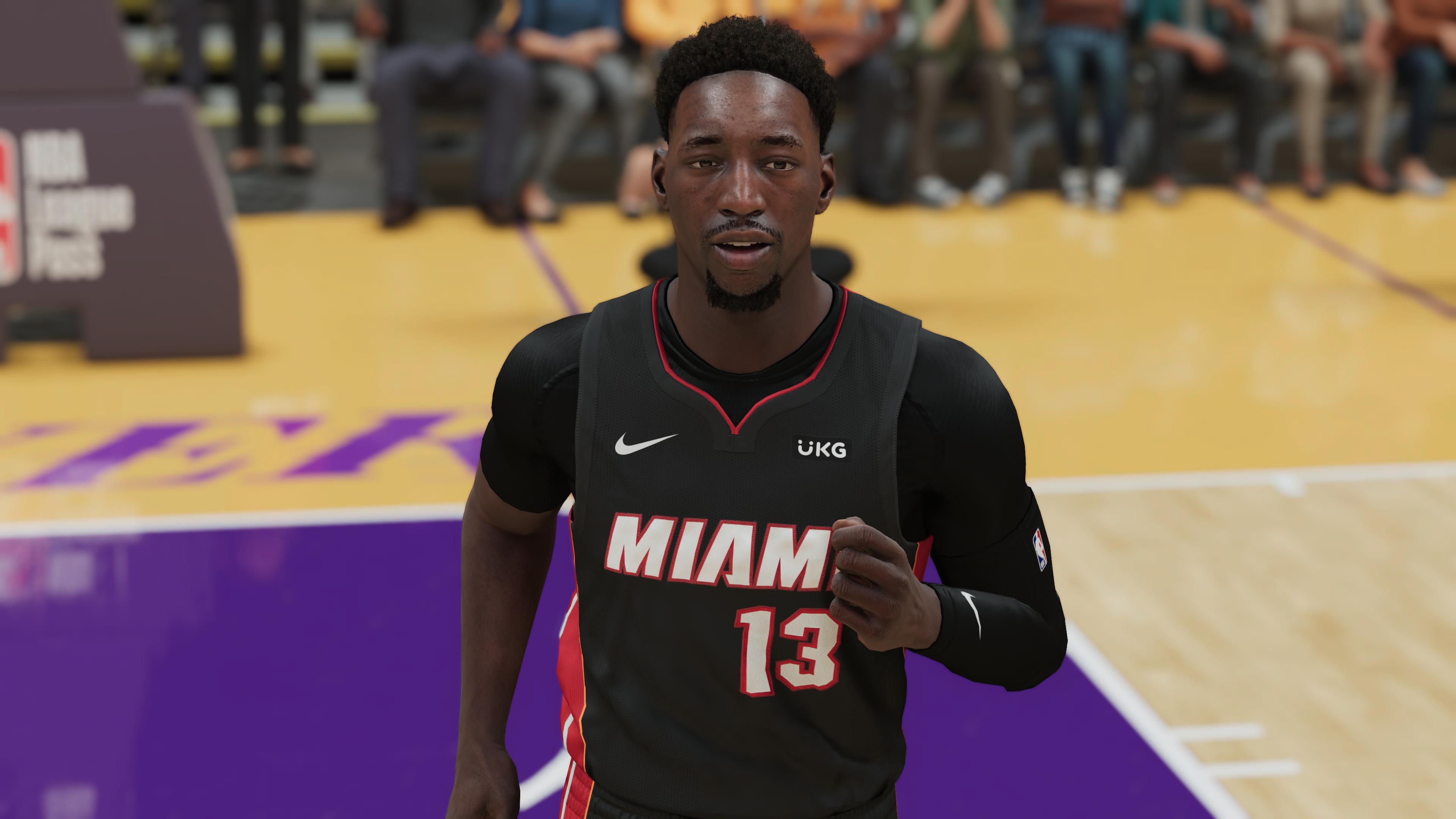 NBA 2K21 Bam Adebayo PS5