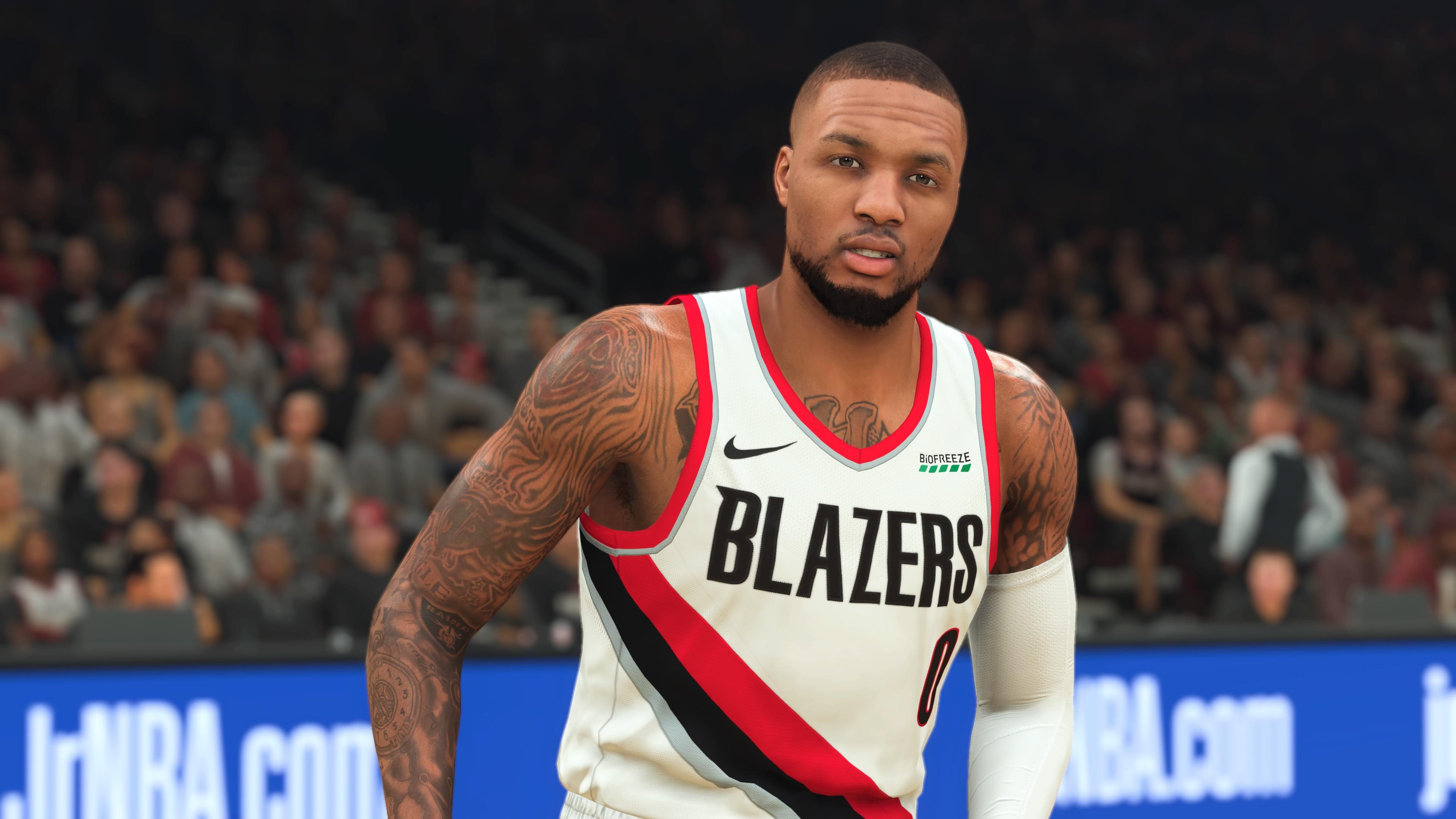 NBA 2K21 Damian Lillard PS4 Pro