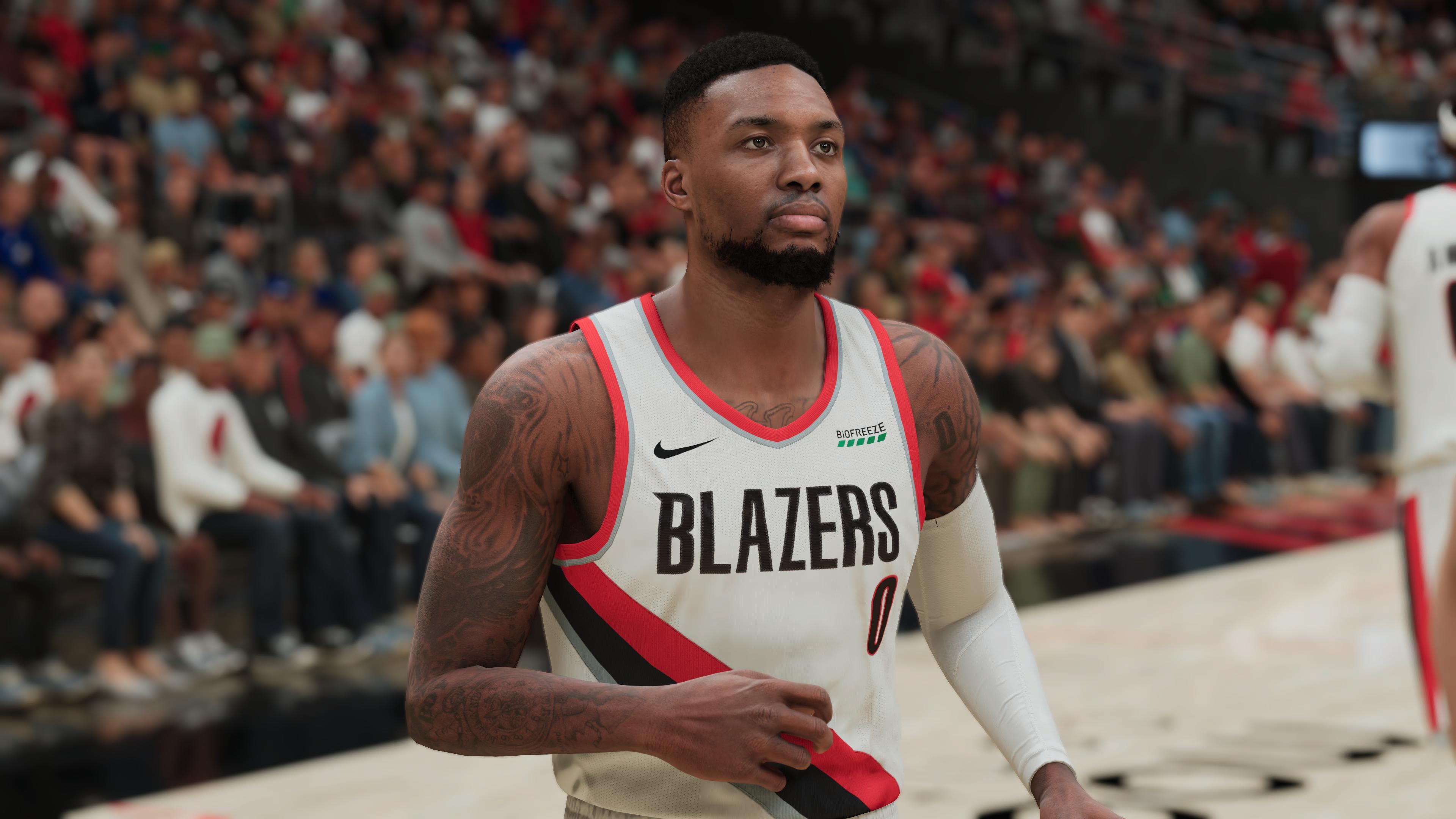 NBA 2K21 Damian Lillard PS5
