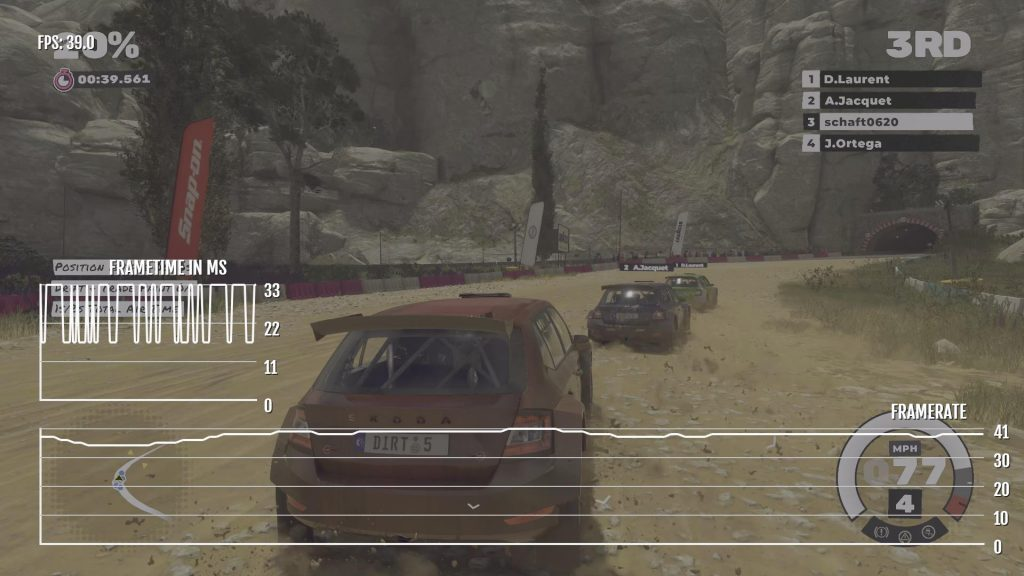 Dirt 5 XOX Visual Mode