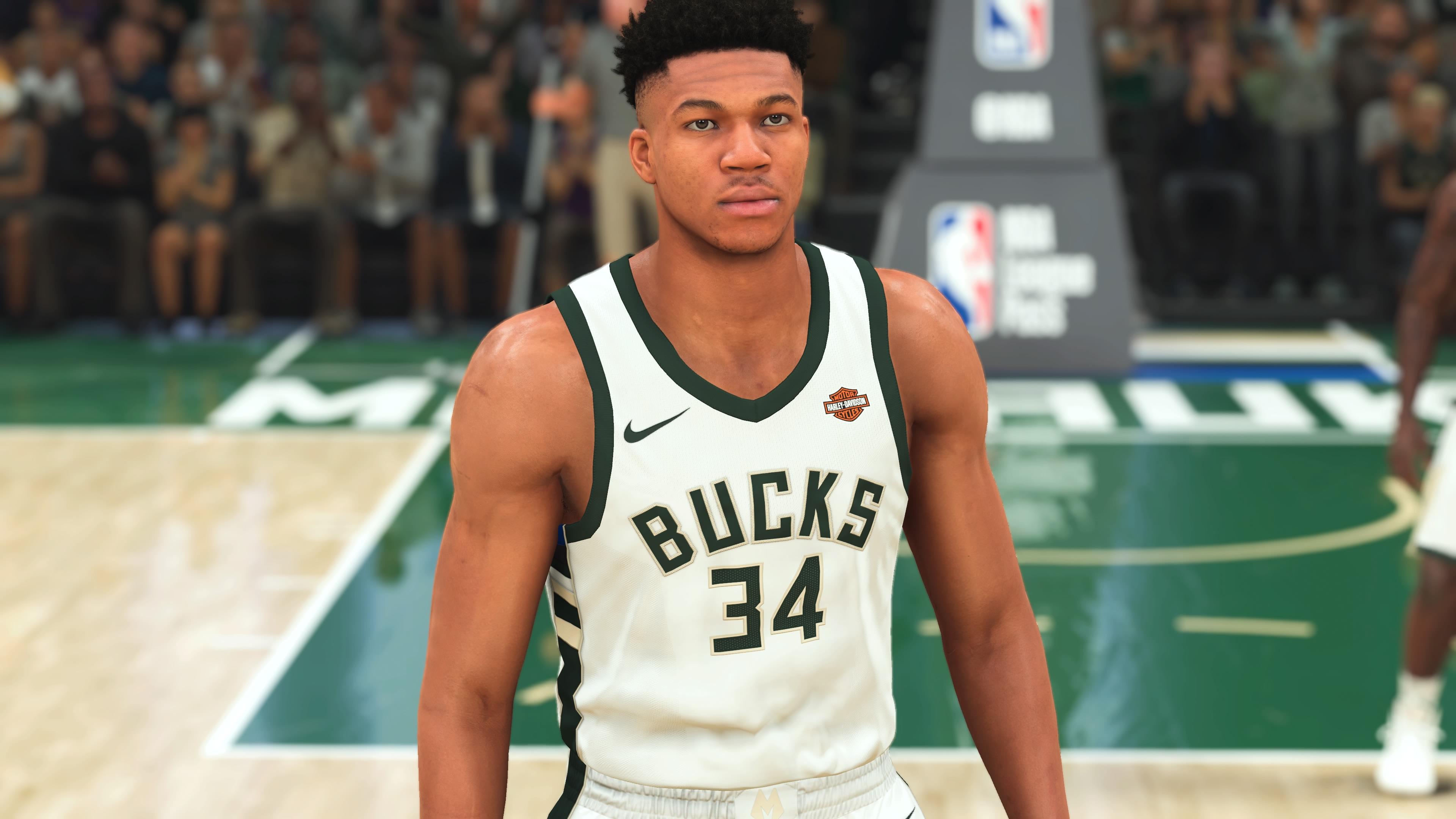 NBA 2K21 Giannis Antetokounmpo PS4 Pro