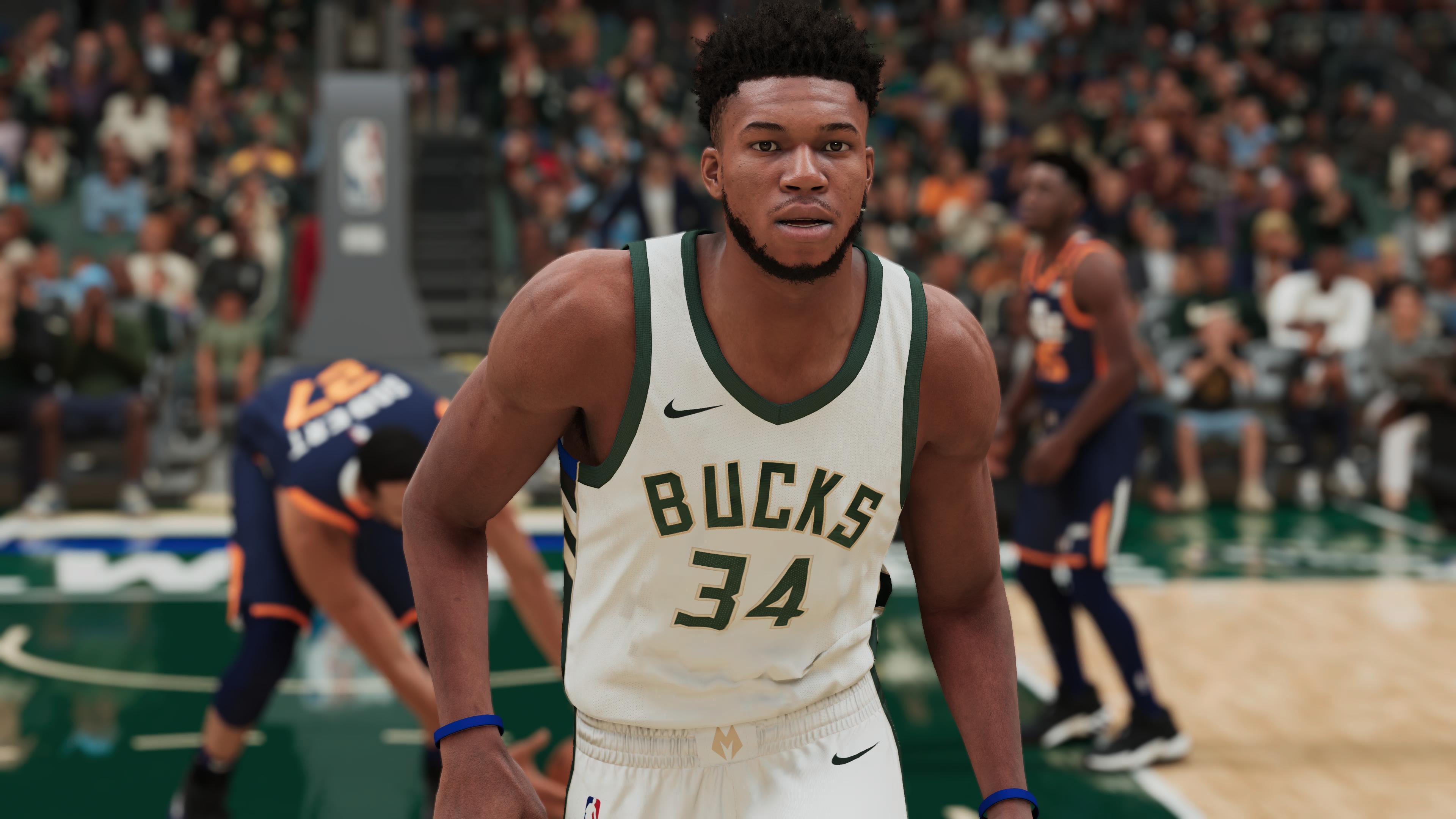 NBA 2K21 Giannis Antetokounmpo PS5