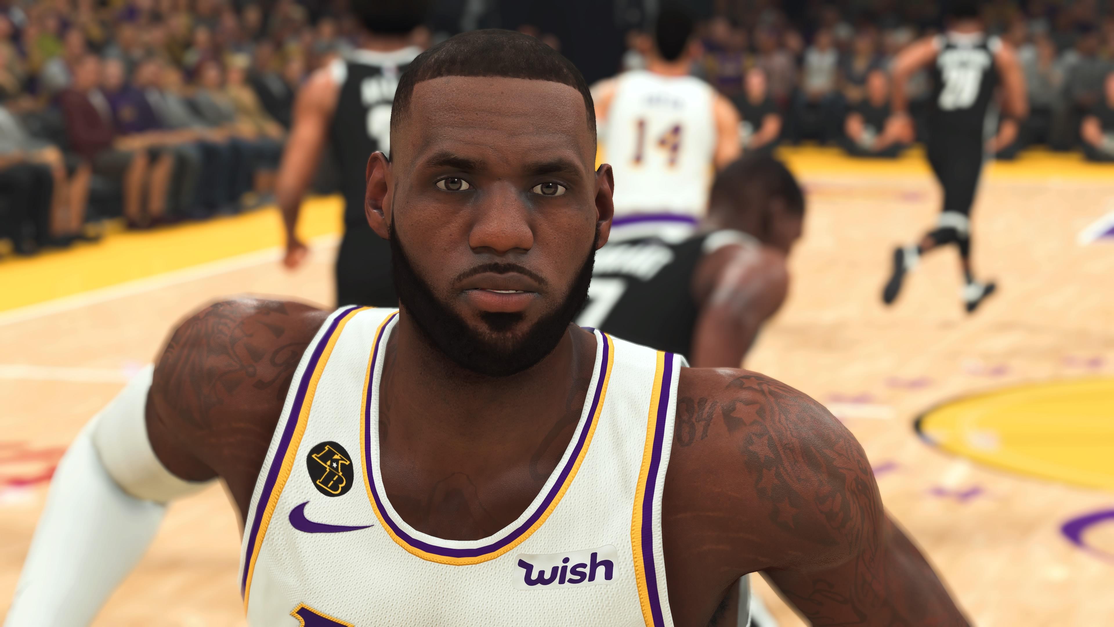 NBA 2K21 LeBron James PS4