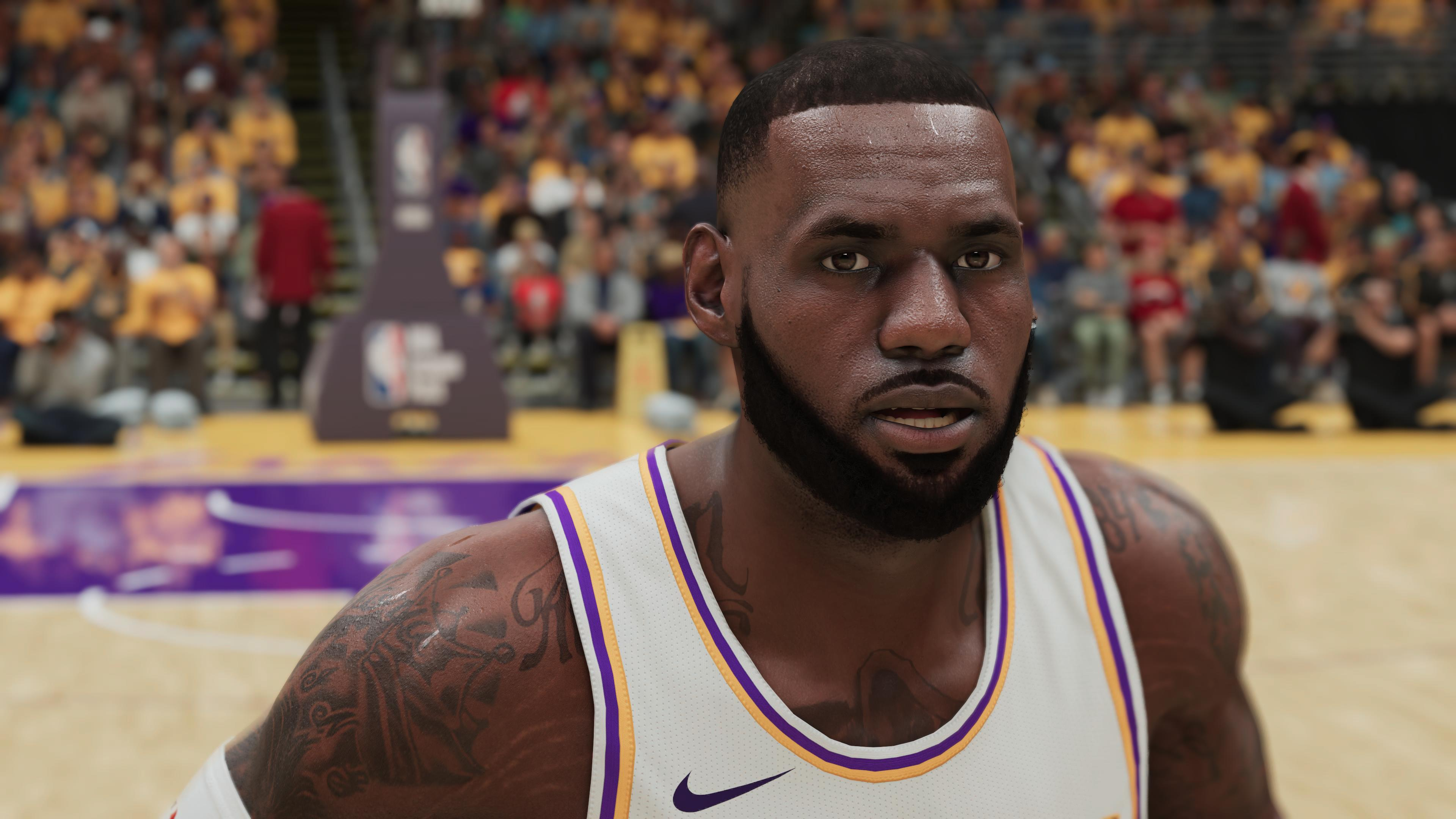 NBA 2K21 LeBron James PS5