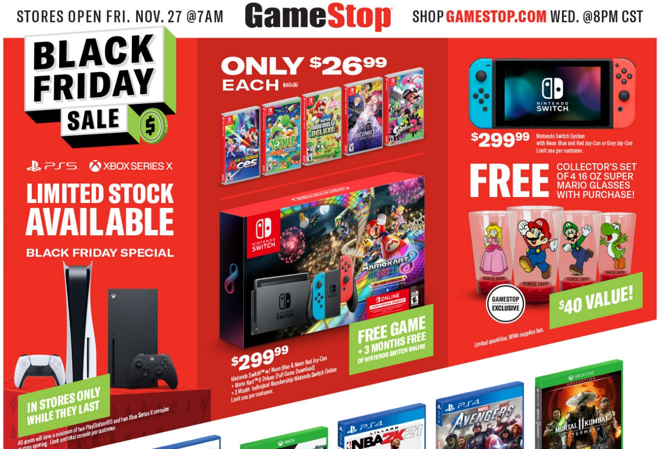 Nintendo Deals Black Friday