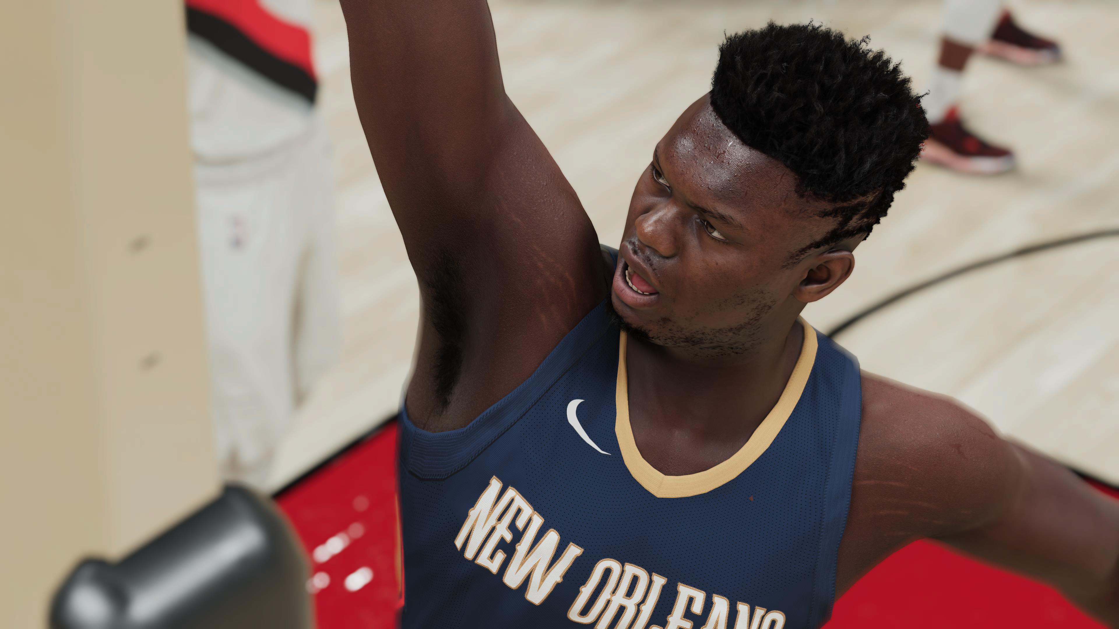 NBA 2K21 Zion PS5 3
