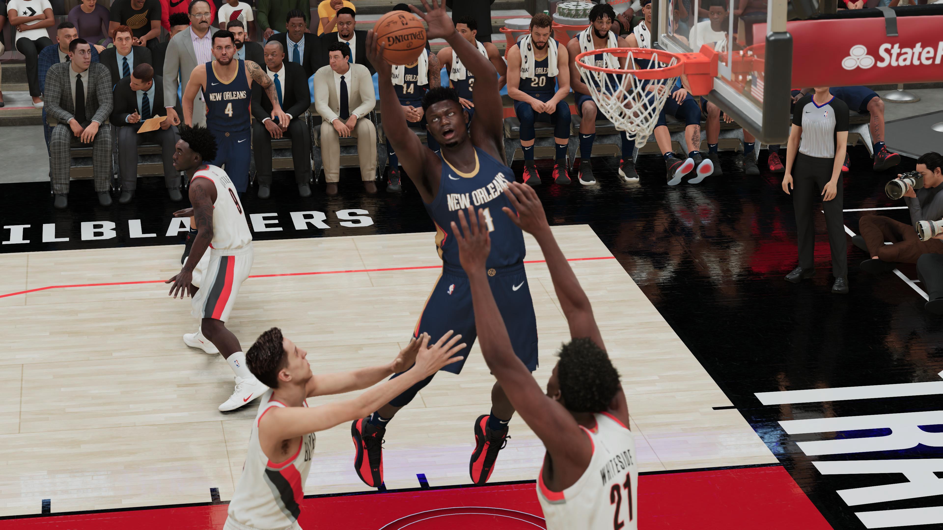 NBA 2K21 Zion PS5 2