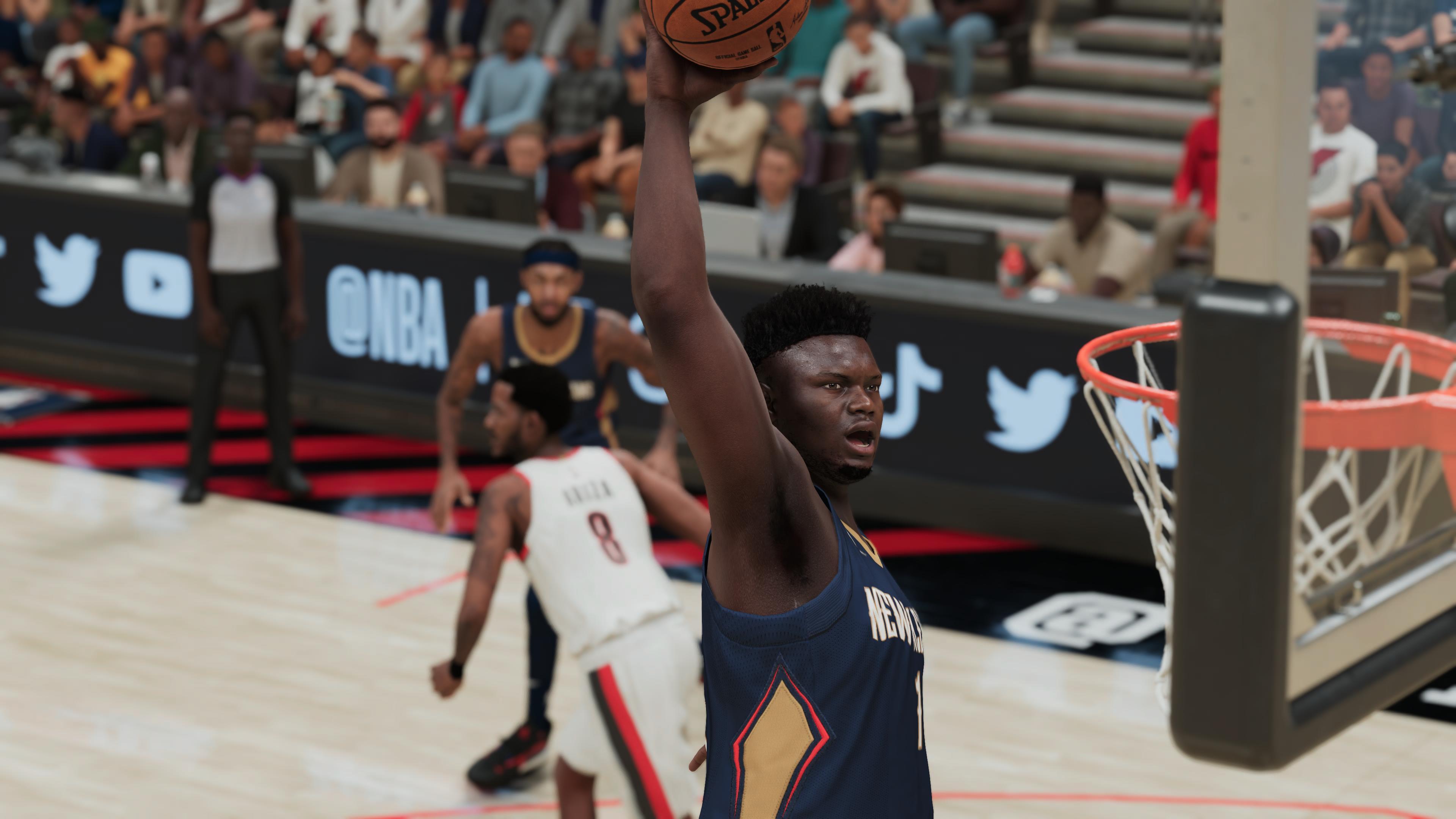 NBA 2K21 Zion PS5 6