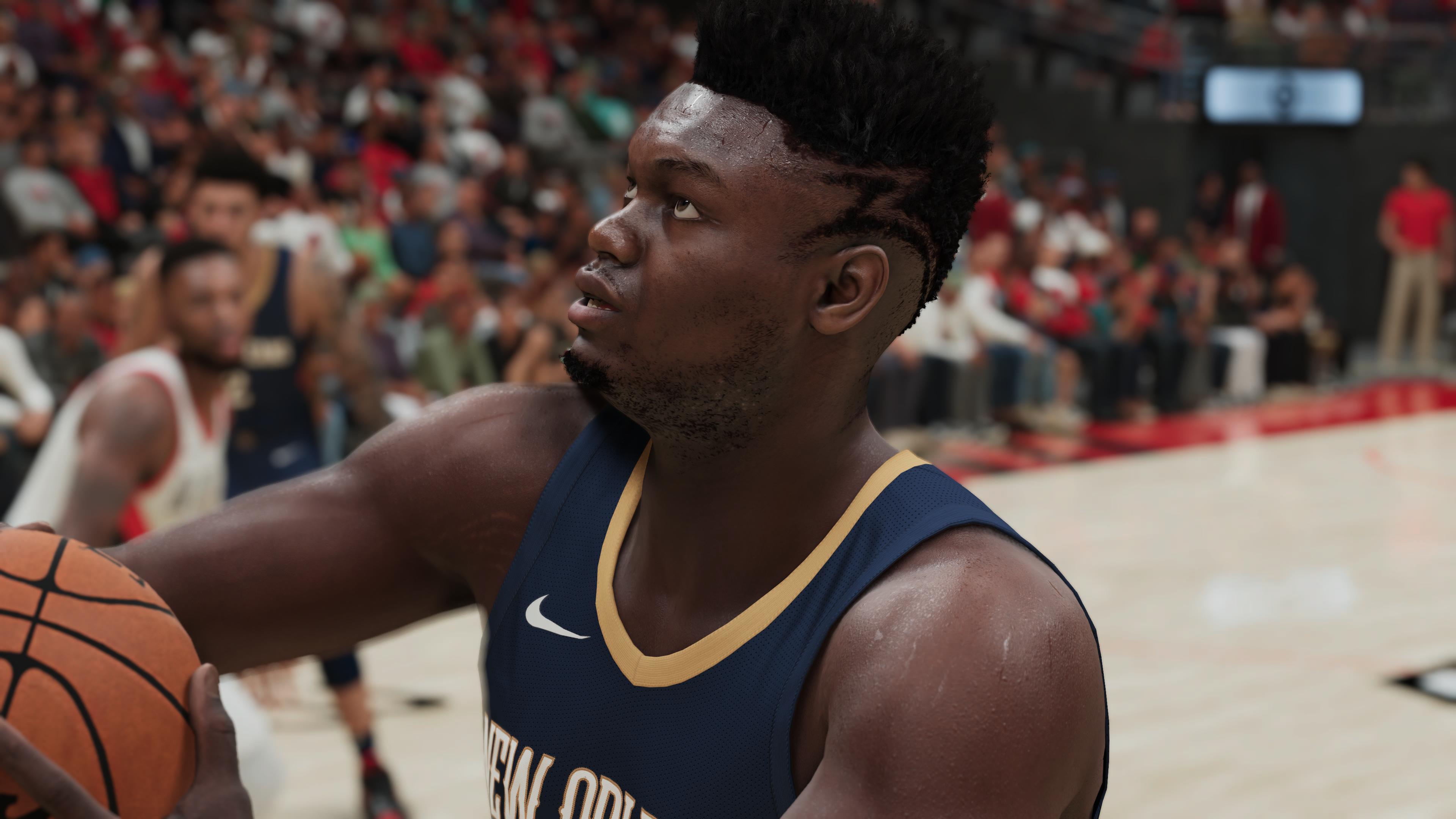 NBA 2K21 Zion PS5 7
