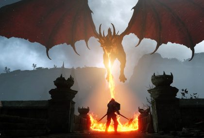 Demon's Souls How to Kill the Red Dragon