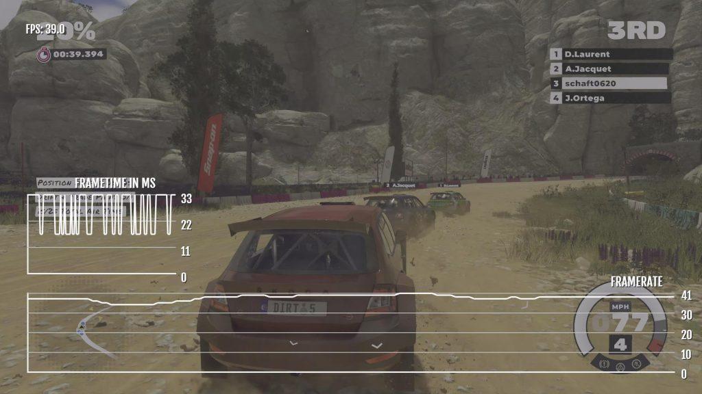 Dirt 5 XSX Visual Mode