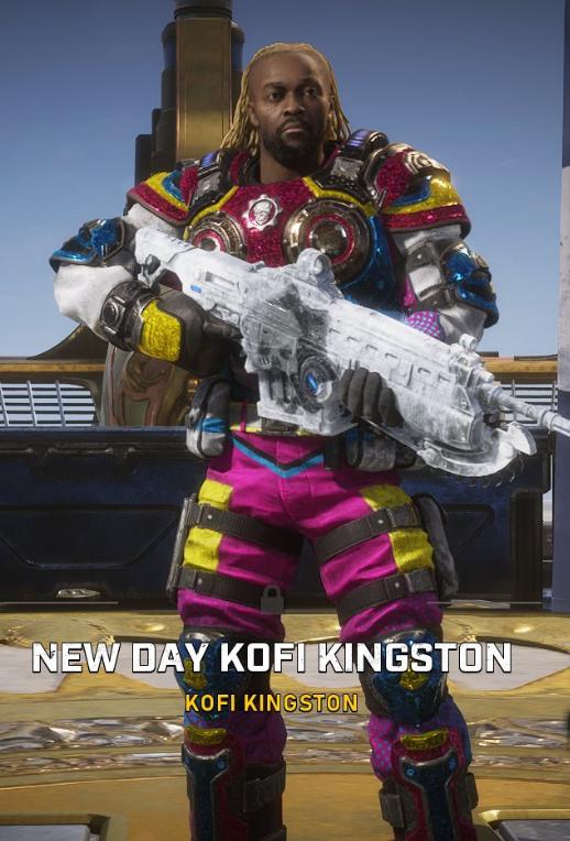 gears of war 5 new day kofi kingston
