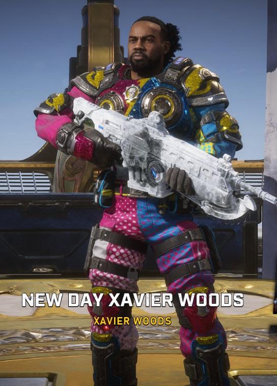 gears of war 5 new day  xavier woods