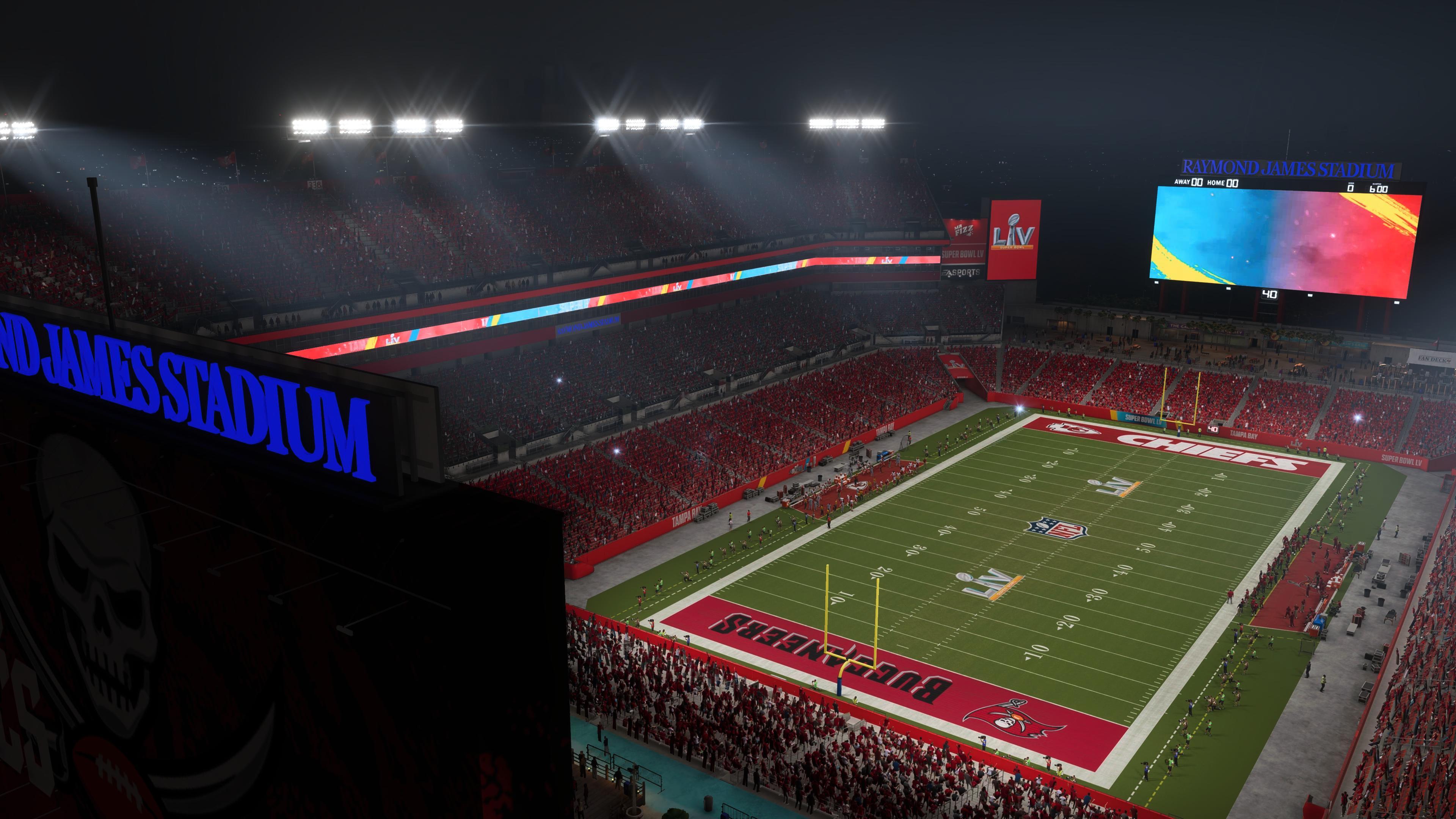 Madden 21 SB LV Stadium