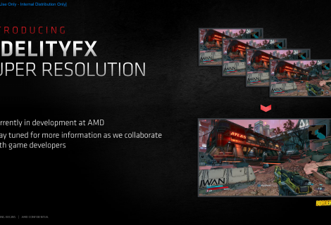 AMD FidelityFX Super Resolution Won't Require Machine Learning To Work On PC and Next Gen Consoles