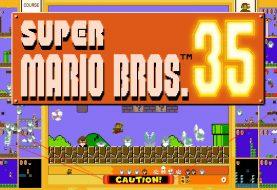 Super Mario Bros 35 is Leaving Soon