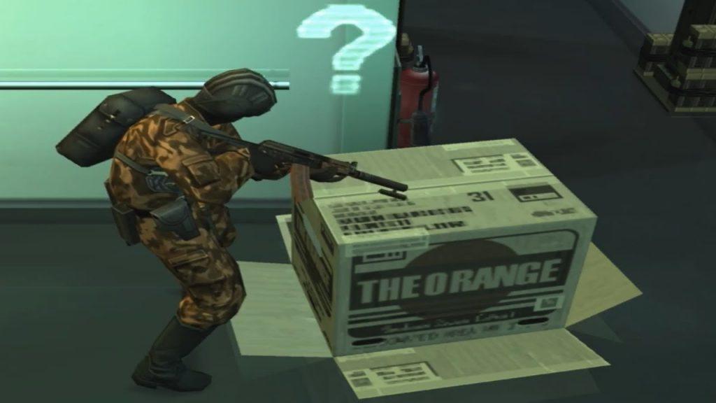 Metal Gear Solid box