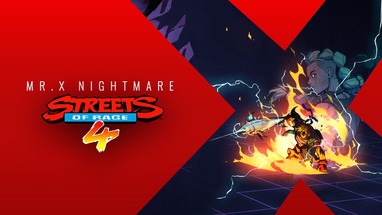 Streets of Rage 4 Mr X Nightmare