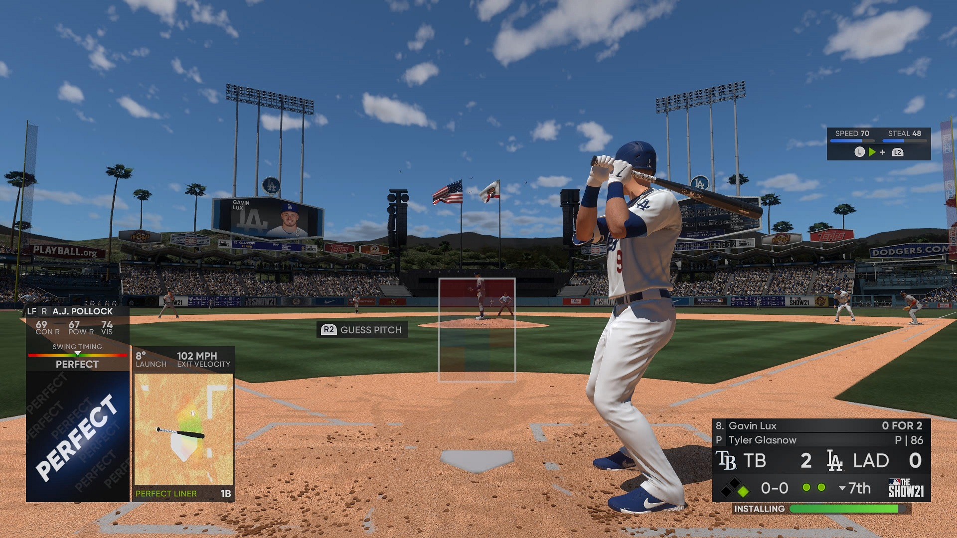 MLB The Show 21 Hitting