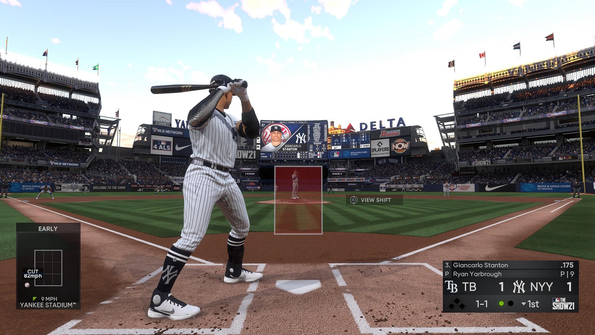 MLB The Show 21 Stanton