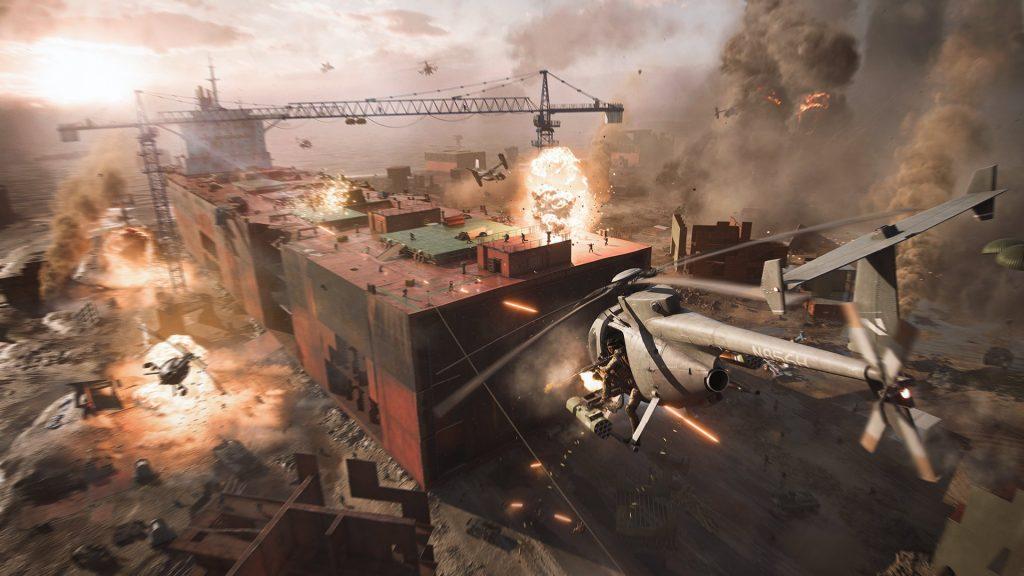 Battlefield 2042 helo