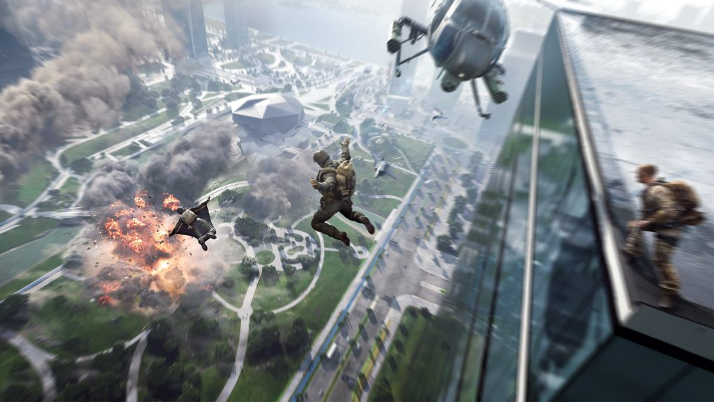 Battlefield 2042 more wingsuits