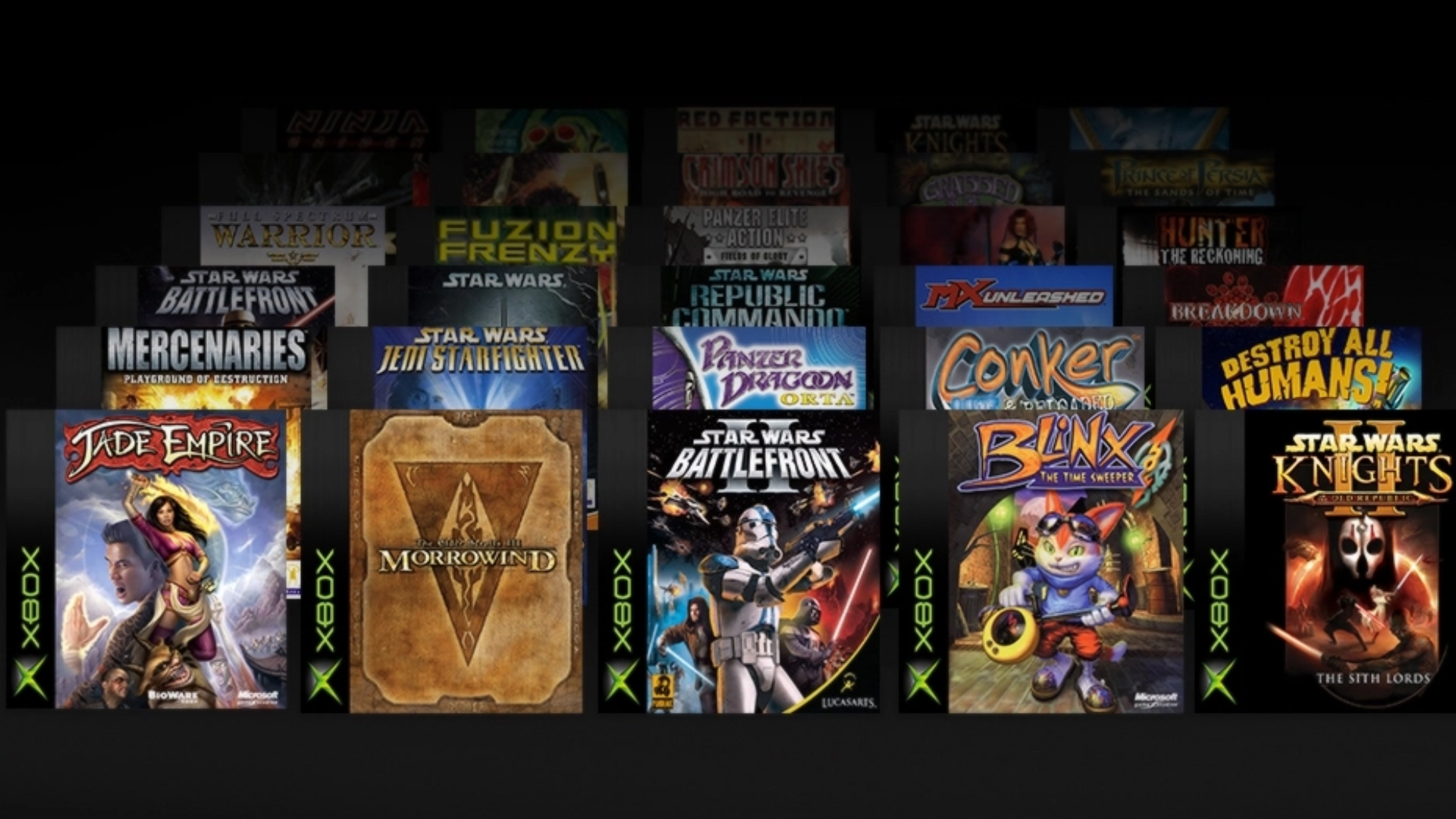 Xbox Game Pass Backwards Compatibility