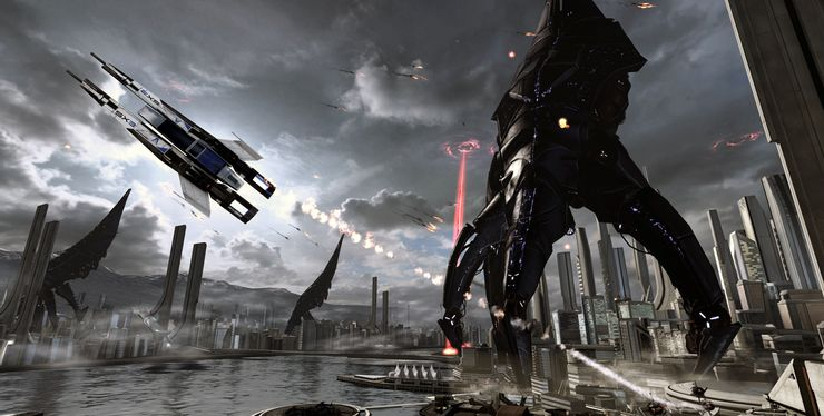 Mass Effect Vigil Best Moment
