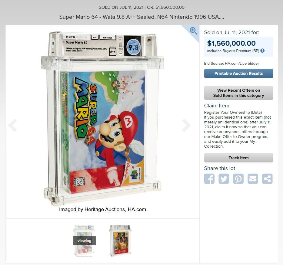 Mario 64 WATA HA