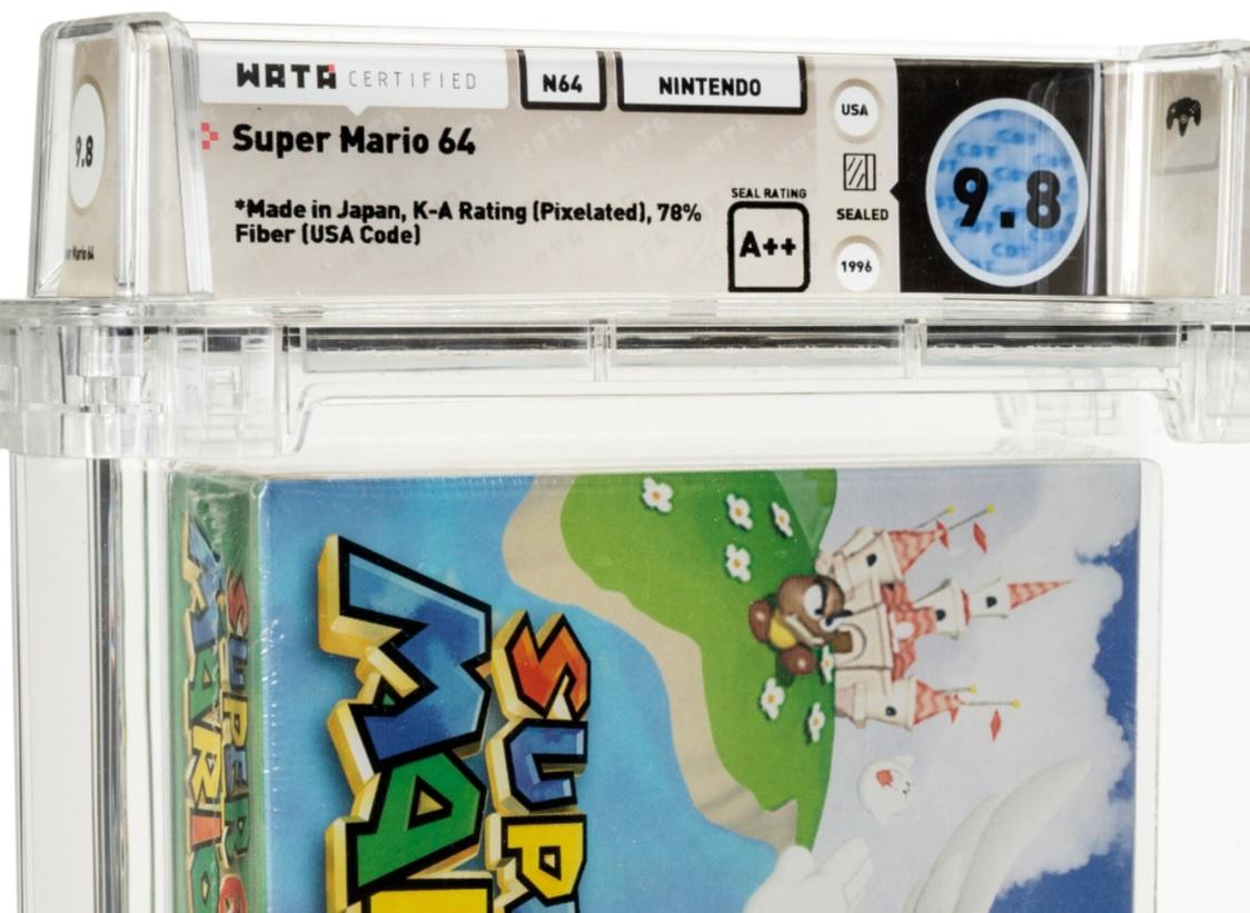 Mario 64 Wata auction