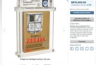 Retro Collectors Have Monster Week At Auction