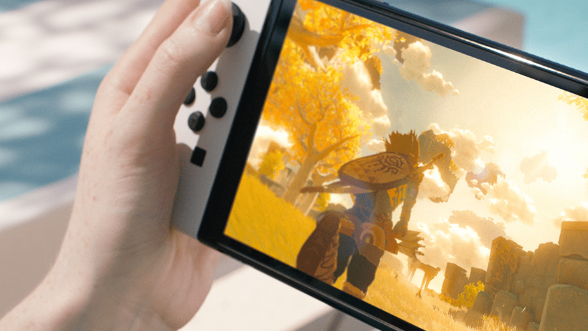 Nintendo Switch OLED Model Screen