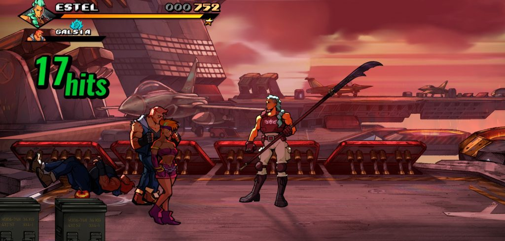 Streets of Rage 4 Survival Mode