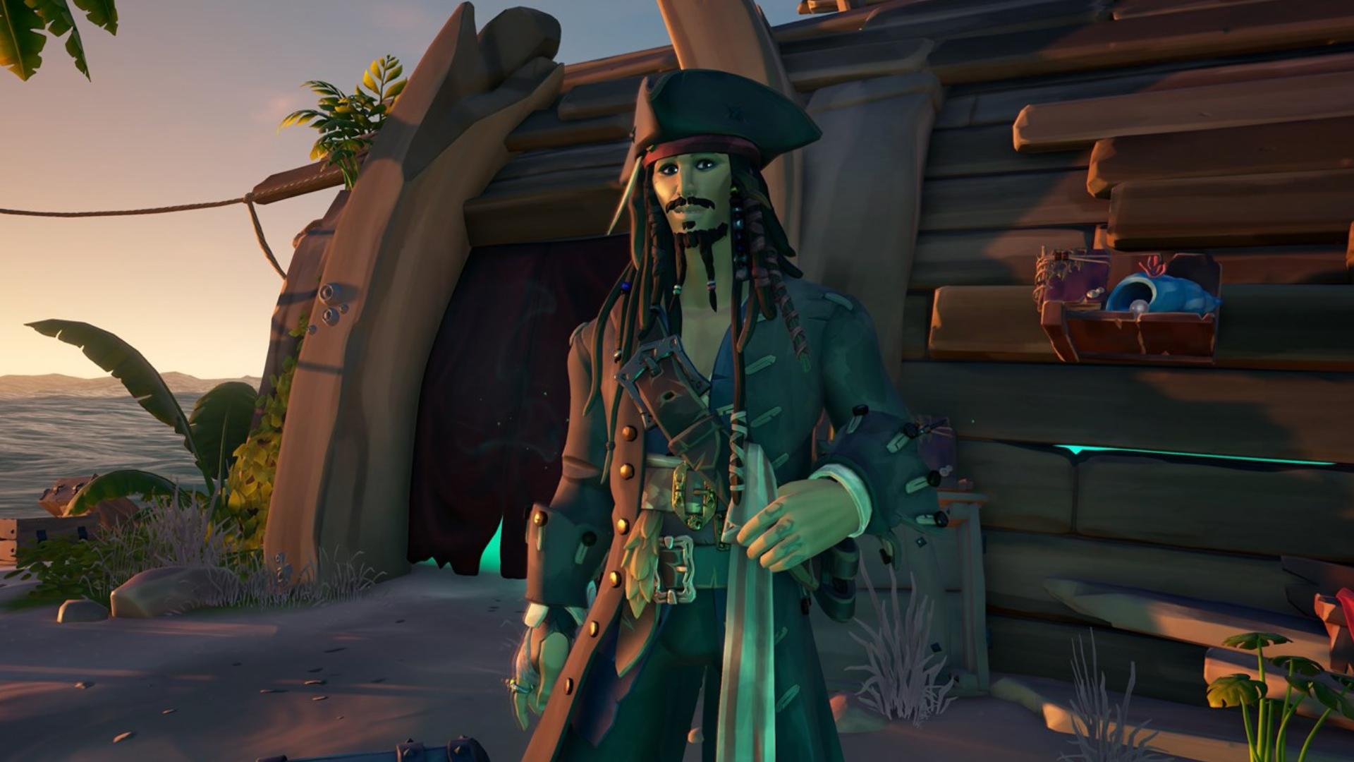Sea of Thieves Jack Sparrow