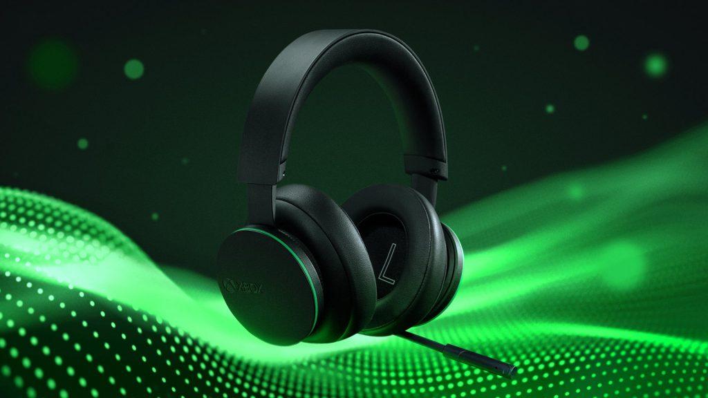Xbox Wireless Headset green wave