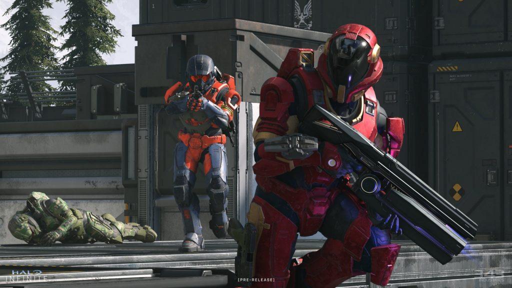 Halo Infinite Tech Flight