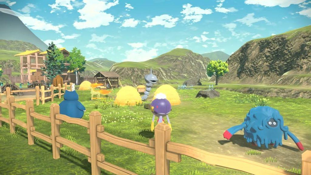 Pokémon Legends: Arceus Pastures