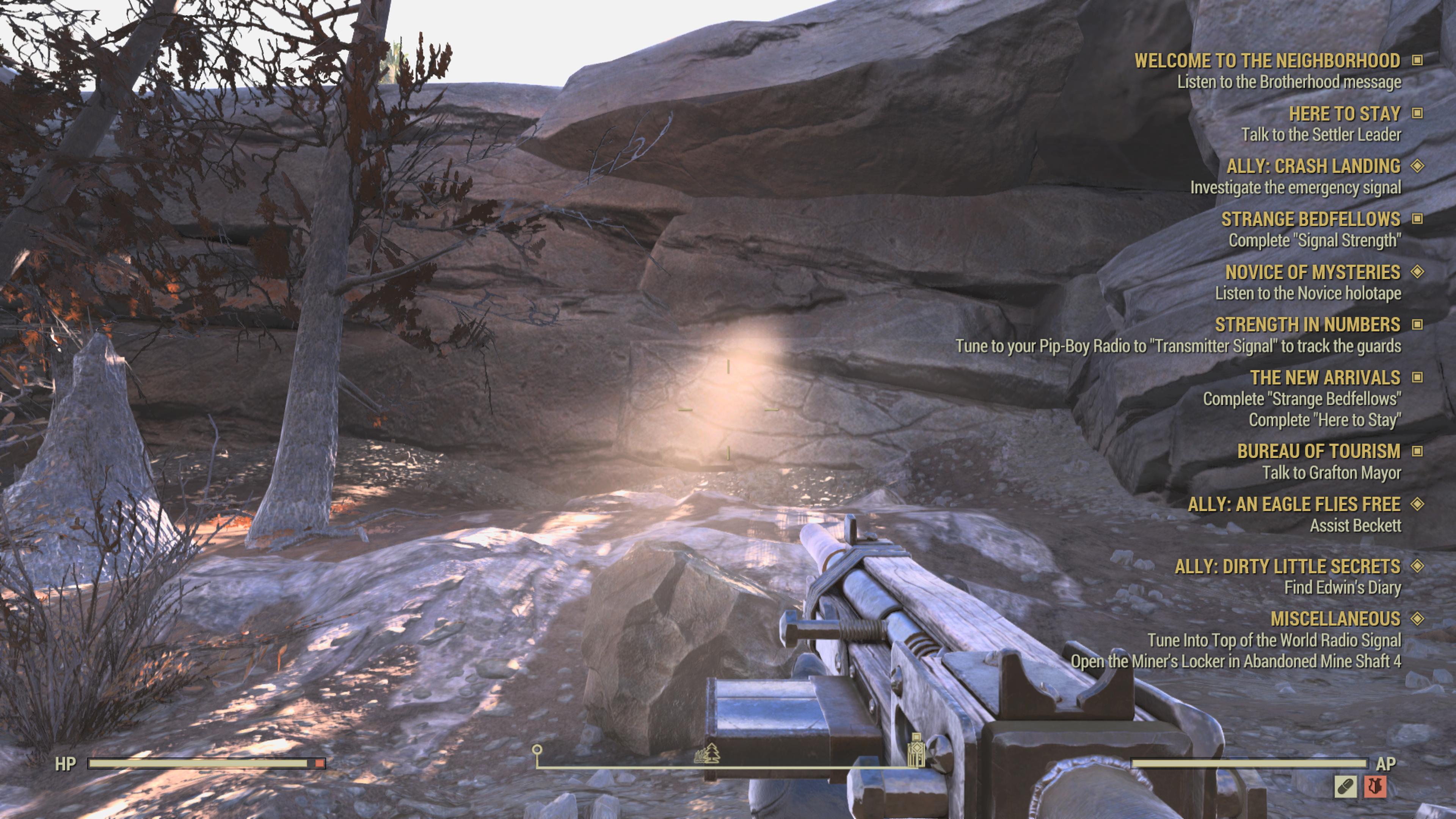 Fallout 76 lighting bug