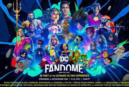 DC FanDome 2021 Round Up