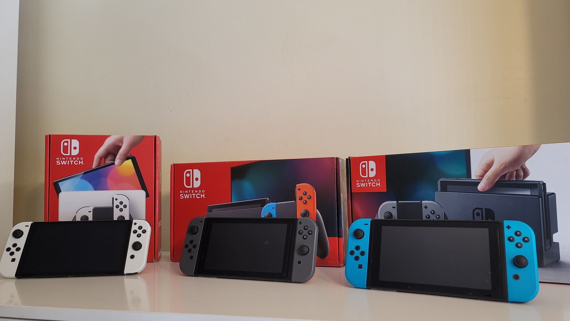 Switch Hardware Revisions